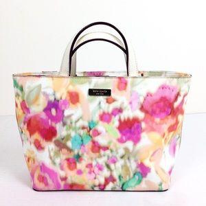 Kate Spade Watercolor Tote Bag